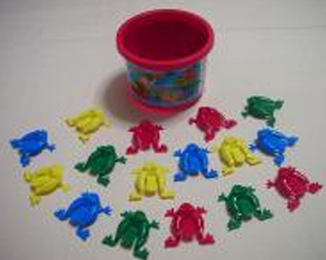Grade P Hopping Frogs Game